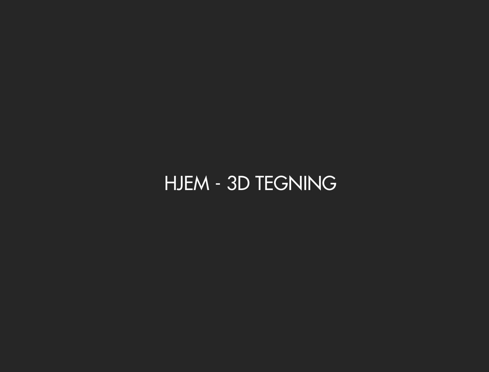 3D IDÉ-PROSJEKT